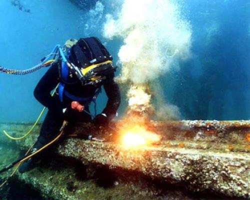 Лайфхак: водолаз это редкая и мужественная профессия