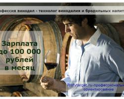 Лайфхак: Профессия винодел 3 плюса специальности, как выучиться и где работать