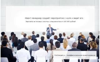 Event (Ивент) менеджер кто это и чем занимается, должностные инструкции