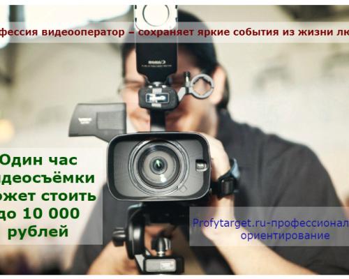 Лайфхак — работа видеооператором творческая профессия: обязанности, требования