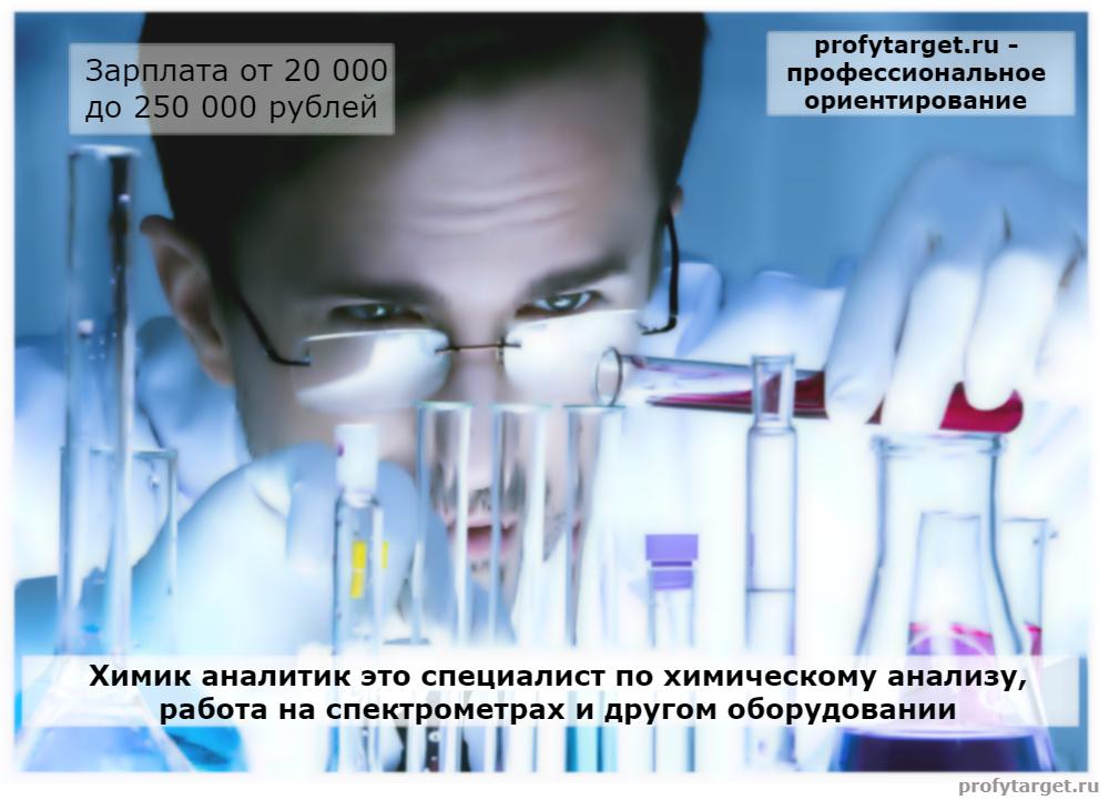 химик аналитик