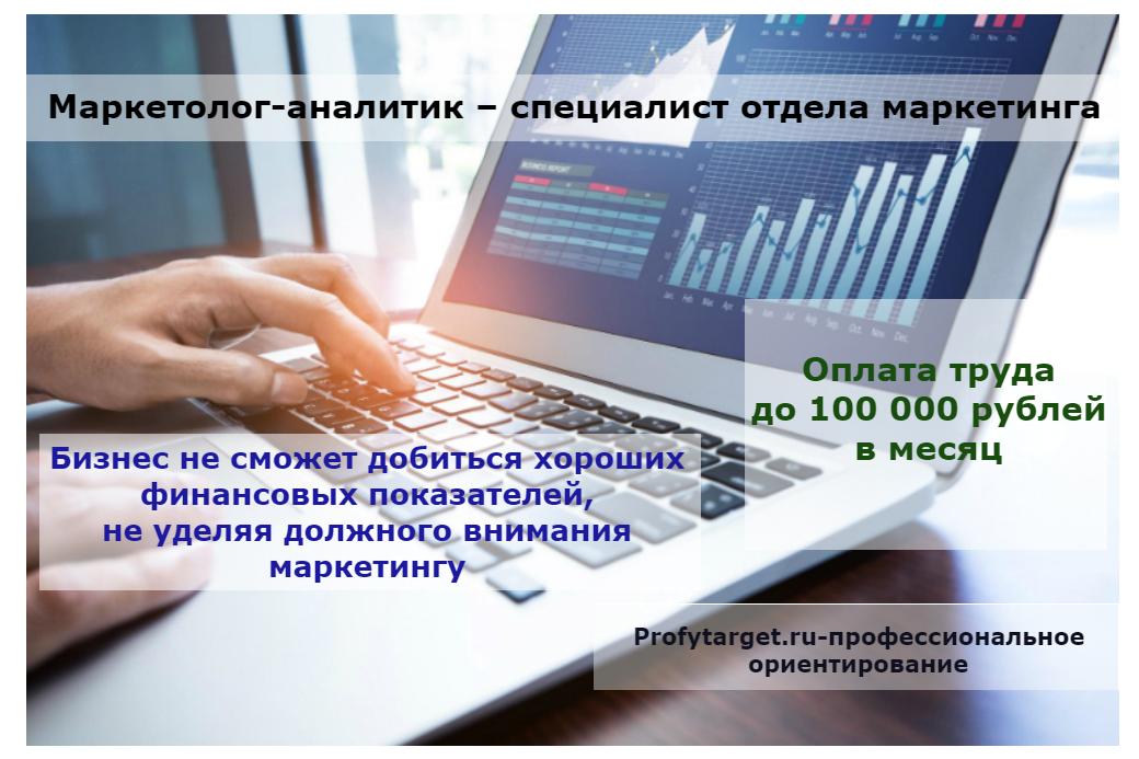 Профессия маркетолог-аналитик