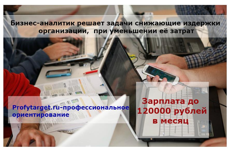 профессия бизнес-аналитик