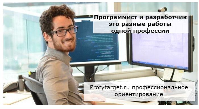 программист разработчик